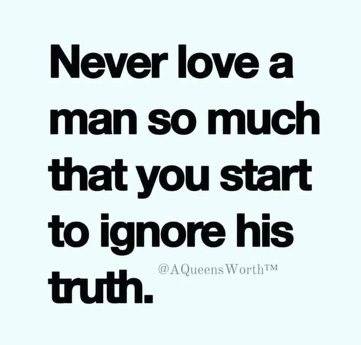 I have to disagree as I look at it very differently: Love a man so much that you start to be his truth.