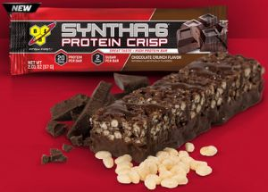 FREE BSN Syntha-6 Protein Crisp Bar Sample Kit on http://hunt4freebies.com