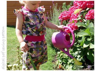 Heather Dress - Sizes 2 to 10 | Craftsy | digital pdf sewing pattern
