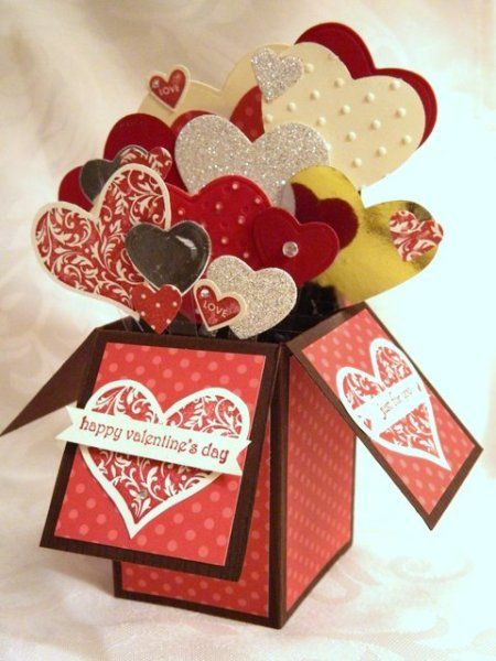 card in a box - laura kimber if I could make this that'd be awesome