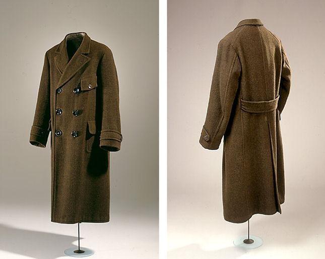Men's Coat, ca. 1913