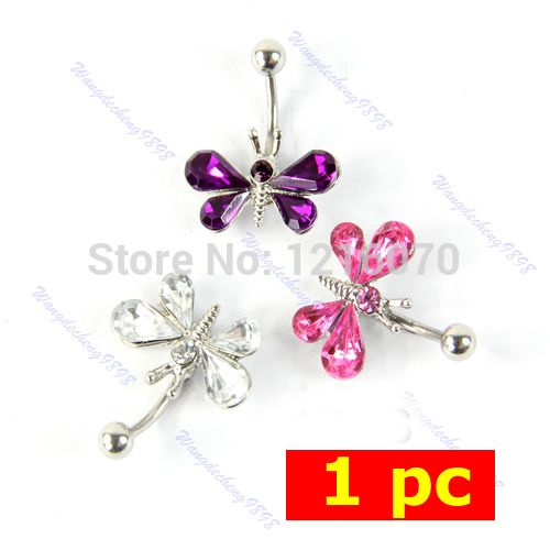 Cheap Body Jewelry, Buy Directly from China Suppliers:Description:100% Brand new and high quality Stunning belly barEye-catchingMaterial:316L Surgical SteelBar diameter