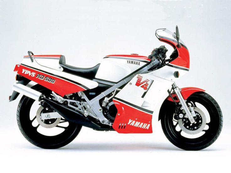 Yamaha RD500LC Period grand prix bike for the road in effect.