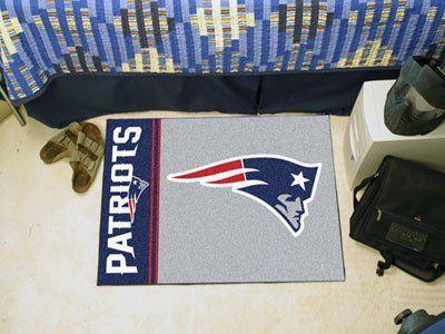 "NFL - New England Patriots Uniform Inspired Starter Rug 19""x30"""