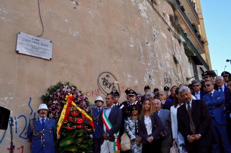 Tutti uniti in ricordo di Giancarlo Siani  © Francesca Saveria Cimmino – Campaniasuweb