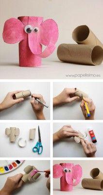 manualidades con rollos de papel higiénico (8)
