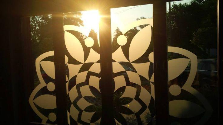 Sun set in Hullam Villa , great yoga venue:)