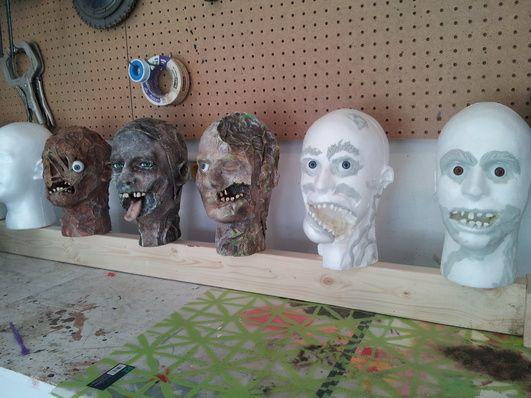 styrofoam mens head ideas