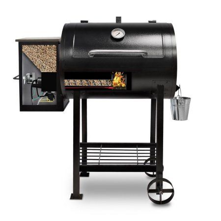 Pit Boss 700FB Wood Fired Pellet Grill w/ Flame Broiler Image 2 of 7
