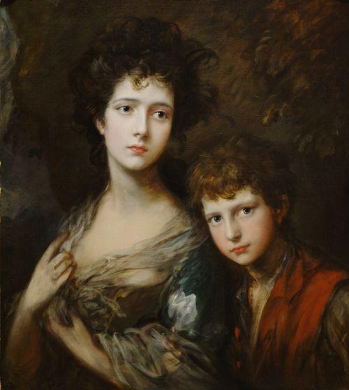 Thomas Gainsborough, Elizabeth and Thomas Linley, 1768, Oil on canvas, The Paintrist Files