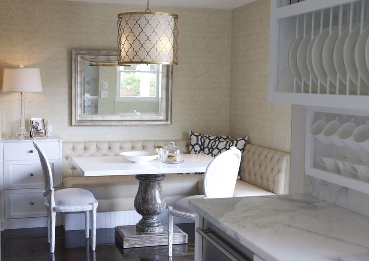 7 Kitchen Nooks to Inspire Your Ideal Eat-In - These seven gorgeous kitchen nooks are the perfect balance of substance and style.