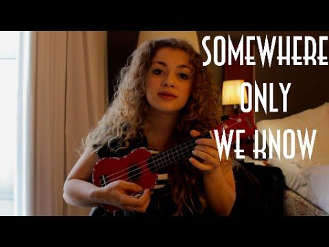 somewhere only we know chords pdf
