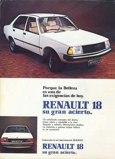 Renault 18,mother Car
