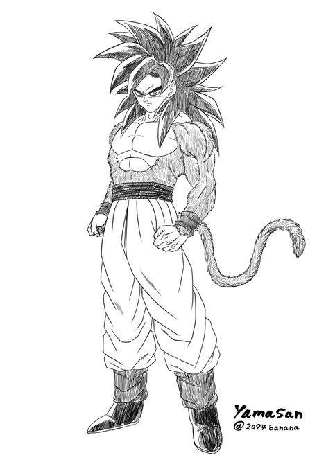 Goku Ssj4 Goku Dragon Ball Dragon Y Dragon Ball Gt