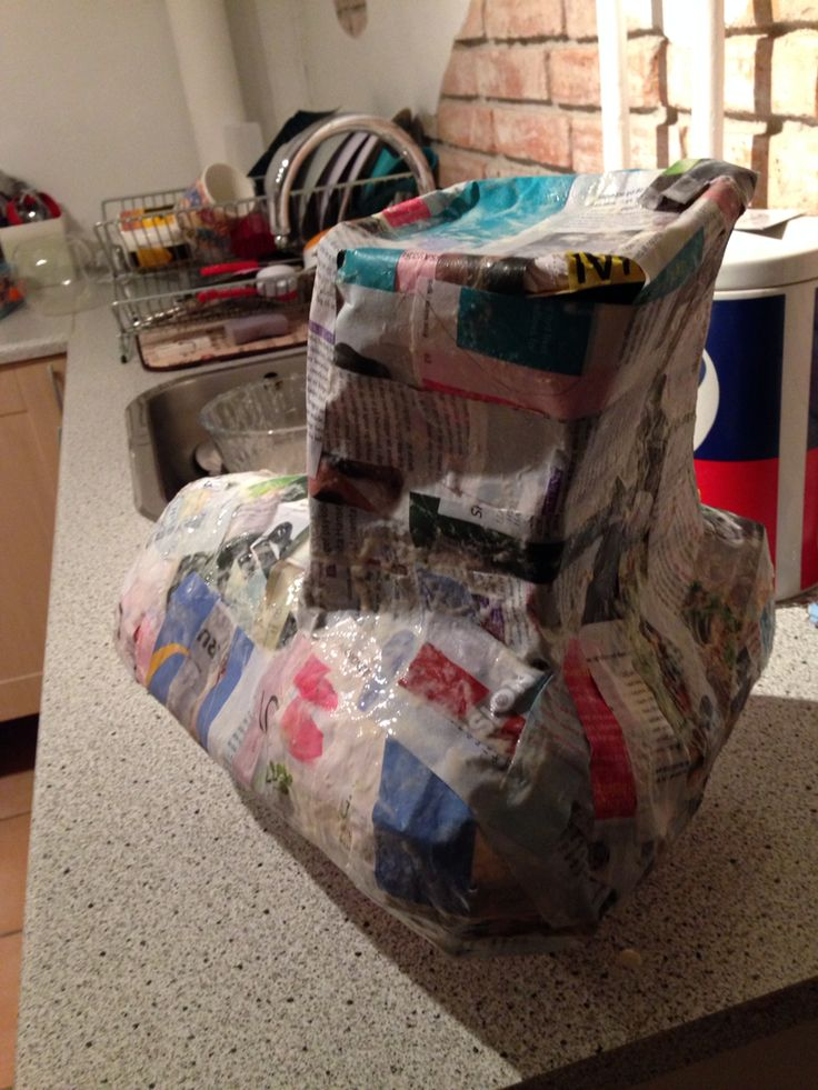 More piñata progress