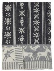 Klippan Lappland Blankets featuring Folkloric Illustrations