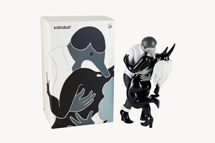 Parra x Kid Robot- Shades of Grey
