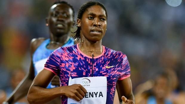 Caster Semenya set to race for double gold