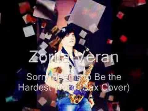 Elton John - Sorry seems to be the hardest Word - Saxophone cover by #VeranZorila #saxophone #smoothjazz #jazz #cover