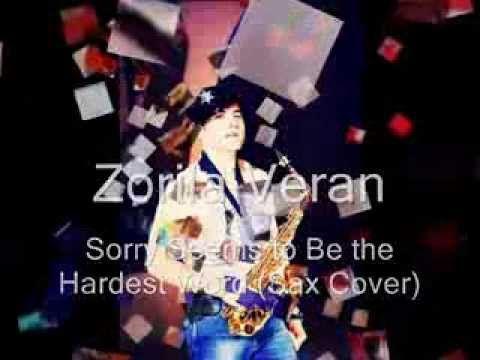 Elton John - Sorry seems to be the hardest Word - Saxophone cover by #VeranZorila #saxophone #smoothjazz #jazz #cover