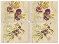 Pimpernel Velké prostírání Olivy a fíky 40x30