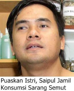 Saipul Jamil Konsumsi Sarang Semut