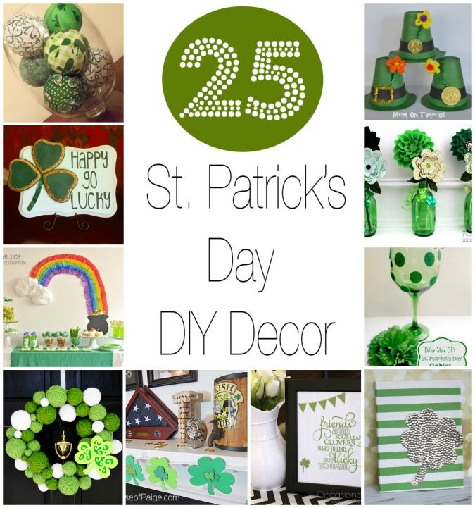 25 Easy Diy Decorations For St Patrick 39 S Day Holidays
