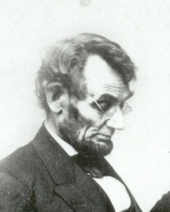 Great picture of Abe.