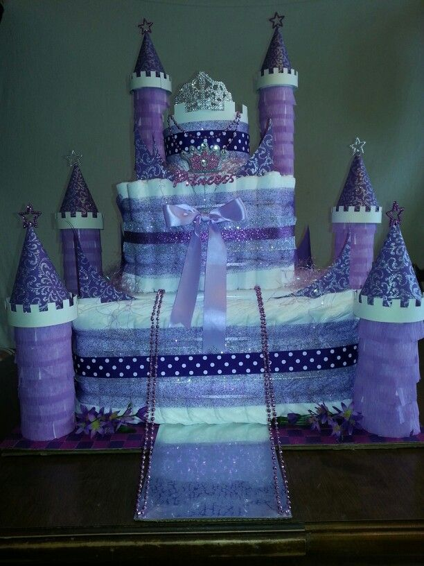 25 Best Ideas About Castle Diaper Cakes On Pinterest