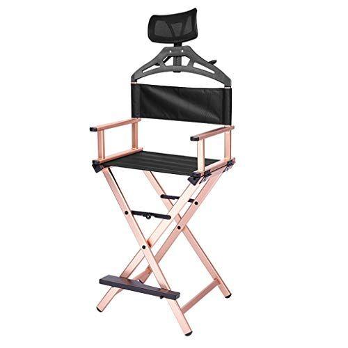 Guo Directeurs Aluminium Chaise Pliante Telescopique Legere Tissu Oxford Artiste Siege Avec R Chaise Pliante Chaise De Maquillage Chaise De Jardin
