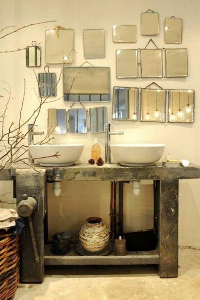 Personalizzare il bagno con lo specchio con cornice