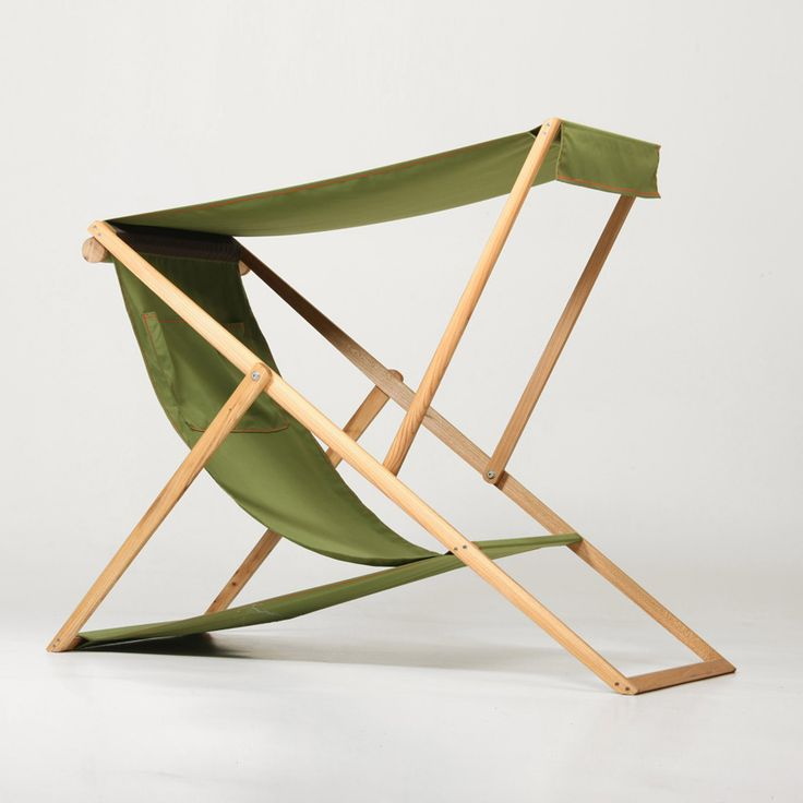 Enkelstudio: U201cThings That Inspire Us: XZ Deck Chair By Numen  Croatian Austrian Design Collective Numen Has Created The XZ U2013 A  Traditional Deck Chair That Is ...
