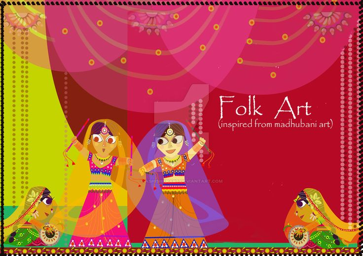 Folk Piece 1 by ashishkrart.deviantart.com on @DeviantArt