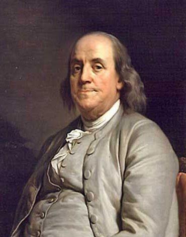 アメリカ独立に貢献した人物。偉大なベンジャミン・フランクリン