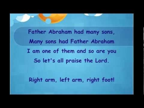 """So while I was searching youtube looking for """"Jesus Loves Me,""""  I stumbled on to this song.  When my oldest Grandson was very little, we used to watch a 'Bible Song' tape (VHS - so you know how long ago it was.)  Anyway, this was one of his favorite songs on the tape (probably because it was an interactive song and we did... """"right arm, left arm ...right foot, left foot ...turn around..."""")  *Happy Memories*"""