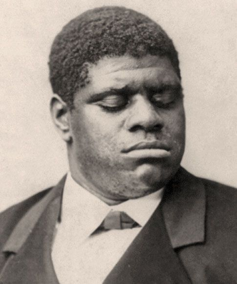 Thomas Greene Bethune, nicknamed Blind Tom, 1st Black pianist to win national fame. He was was also the 1st black artist known to have performed at the White House. Then about age 10, he played the piano for President James Buchanan. Born a slave near Columbus, Georgia, his talent as a composer and a pianist was soon recognized by Colonel Bethune, who had PURCHASED him in 1850.