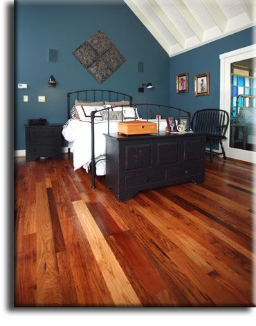 Wormy Chestnut Flooring -- from Appalachian Woods. Wormy Chestnut flooring is milled from old barn boards and at times we mill lumber sawn frm old barn timbers. I am loving this!!