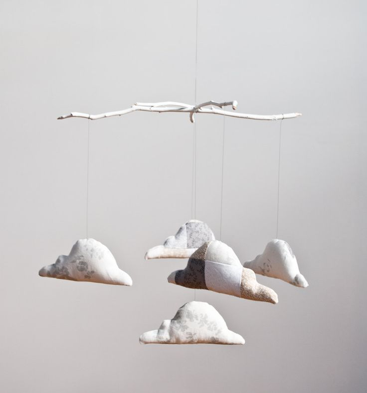 Cloud Mobile- making this for baby girl!