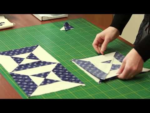 Patchwork Pincushion - How to sew - YouTube