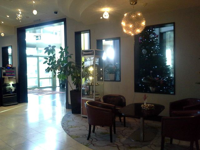 The spacious and welcoming hotel reception http://www.carltonhotelblanchardstown.com/