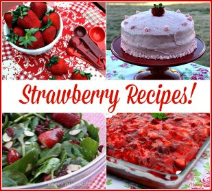 Mommy's Kitchen - Home Cooking & Family Friendly Recipes: Strawberry Recipe Round Up! {National Strawberry Day}