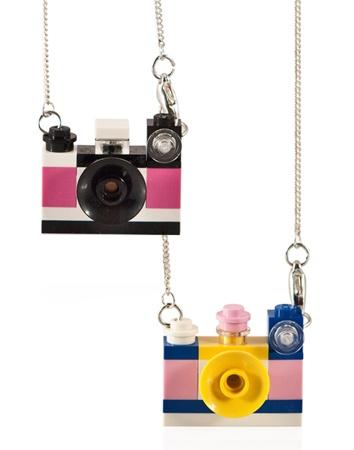 LEGO® Camera Necklace,VICOLO PAGLIACORTA: Design and Gift Ideas Green Shop