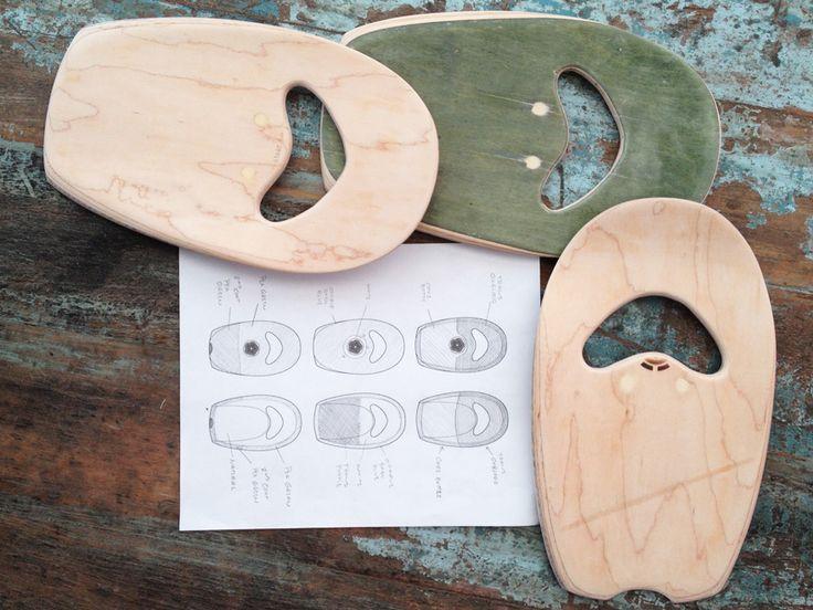 Upcyled bodysurfing hand planes from old skateboard decks. Working on color schemes. 100% Handcrafted in San Clemente, CA.