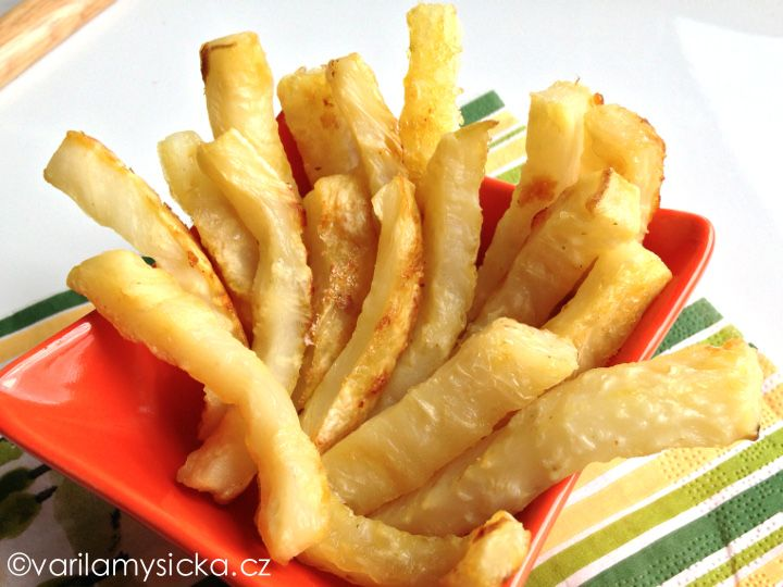 Kdo říká, že by měly být hranolky jen z brambor