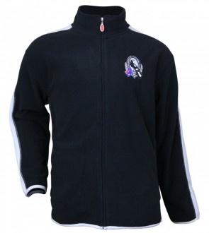 AFL Mens Polar Fleece Jacket for the Collingwood Magpies.