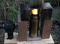 Eddie's cheap, easy to build, turbo stove.