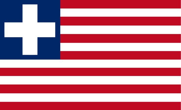 Flag of Liberia (1827-1847)
