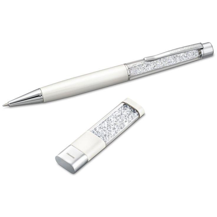 <3 Swarovski pen and USB key