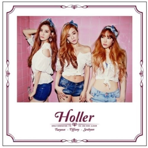 Girls' Generation TAETISEO [HOLLER] 2nd Mini CD + POSTER K-POP Sealed SNSD TTS