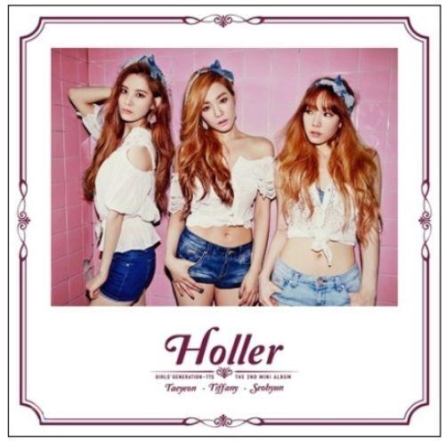 Girls' Generation TAETISEO [HOLLER] 2nd Mini CD Photobook K-POP Sealed SNSD TTS